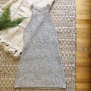 Madewell Sleeveless Sweater Dress
